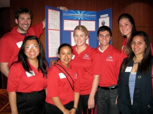 Richter Center Ambassadors present a poster at the Annual Continuums of Service  conference in Seattle, WA.  This year they will present a workshop at the conference in Portland, OR and two members of the SERVE Committee will be there to support them.