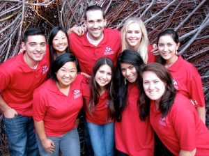 The 2013-14 Ambassadors are (back left) Lucca Petrucci, Alexi Kimura, Daniel Ward, Heather Goossen, Lilliana Toste, (front left) Song Vang, Amanda de Lima, Jazmin De La Torre, and Emily Hentschke