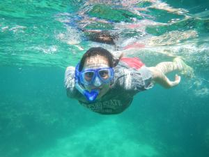 Snorkeling! Photo credit: Cassie Niino