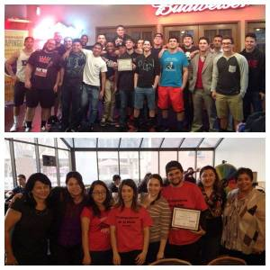 Top sellers: Sigma Phi Epsilon Fraternity and Trabajadores de La Raza!