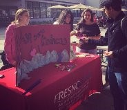 Fishing for Kindess during Random Acts of Kindness Week 2014! From Richter Center Instagram.