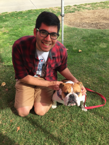 Ambassador Francisco with Victor E. Bulldog