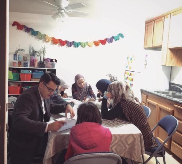 refugee tutoring
